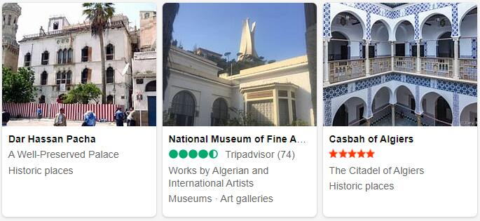 Algeria Algiers Tourist Attractions 2