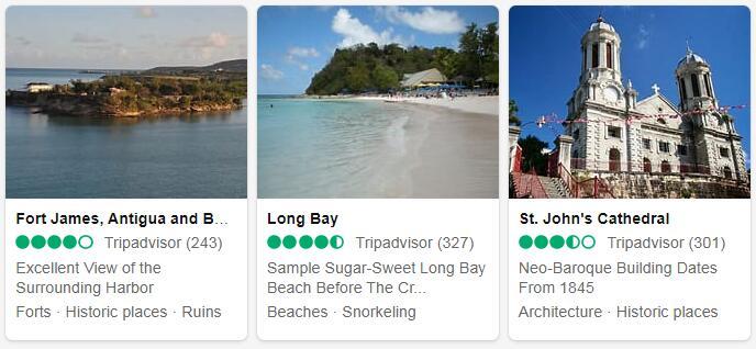 Antigua and Barbuda Saint John's Tourist Attractions 2