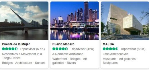 Argentina Buenos Aires Tourist Attractions 2