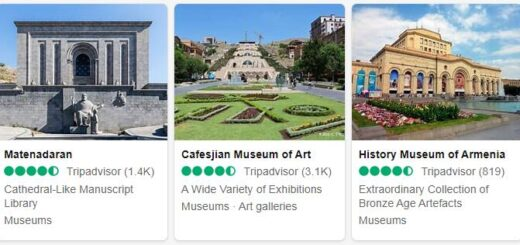Armenia Yerevan Tourist Attractions 2