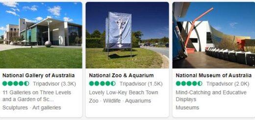 Australia Canberra Tourist Attractions 2