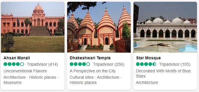 Bangladesh Dhaka Tourist Attractions 2