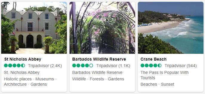 Barbados Bridgetown Tourist Attractions 2
