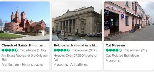 Belarus Minsk Tourist Attractions 2