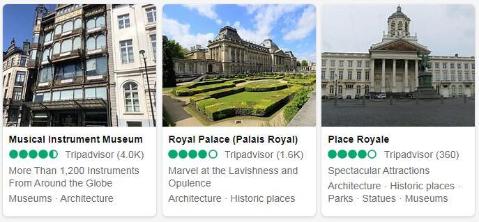 Belgium Brussels Tourist Attractions 2
