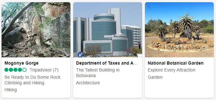 Botswana Gaborone Tourist Attractions 2