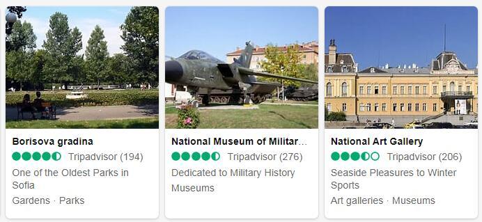 Bulgaria Sofia Tourist Attractions 2