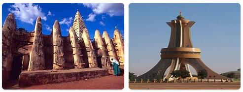 Burkina Faso Ouagadougou Tourist Attractions 2