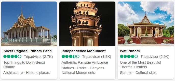 Cambodia Phnom Penh Tourist Attractions 2