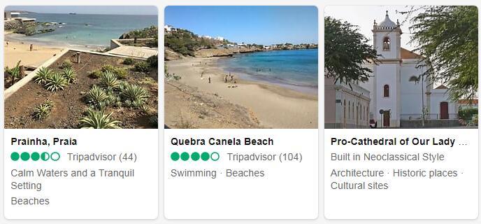 Cape Verde Praia Tourist Attractions 2