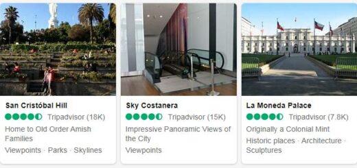 Chile Santiago Tourist Attractions 2