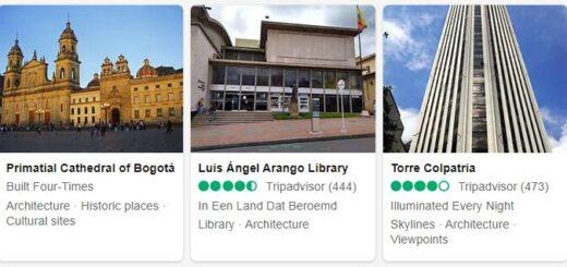 Colombia Bogota Tourist Attractions 2