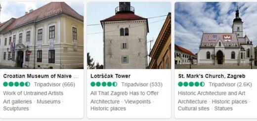 Croatia Zagreb Tourist Attractions 2