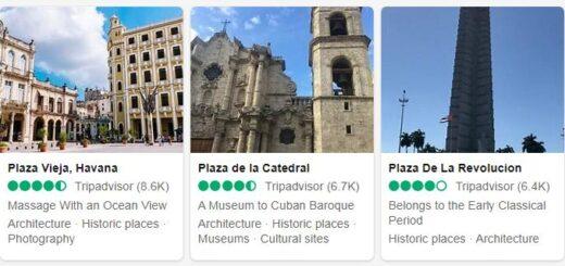Cuba Havana Tourist Attractions 2