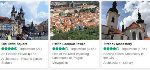 Czech Republic Prague Tourist Attractions 2