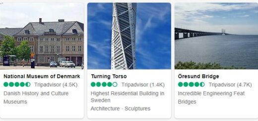 Denmark Copenhagen Tourist Attractions 2