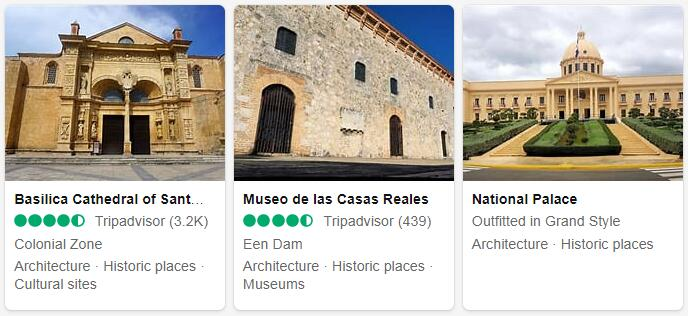Dominican Republic Santo Domingo Tourist Attractions 2