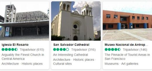 El Salvador San Salvador Tourist Attractions 2
