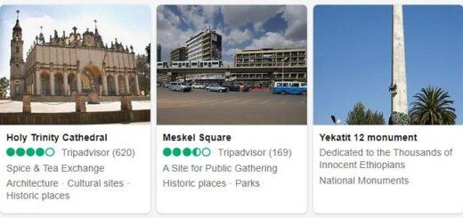 Ethiopia Addis Ababa Tourist Attractions 2