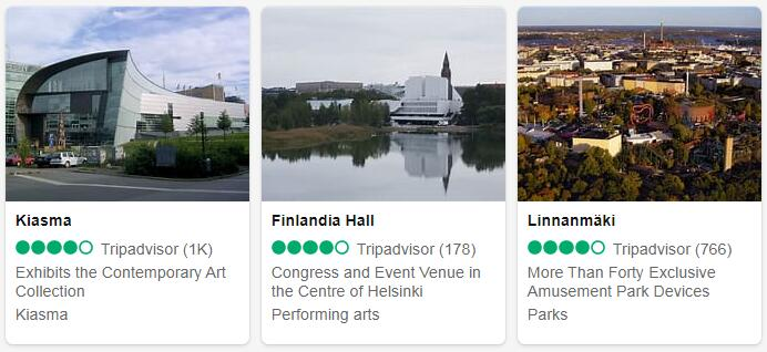 Finland Helsinki Tourist Attractions 2