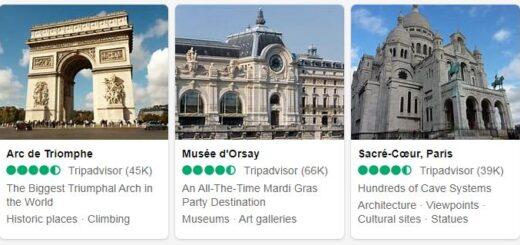 France Paris Tourist Attractions 2