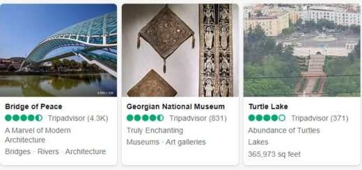 Georgia Tbilisi Tourist Attractions 2