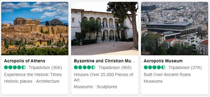 Greece Athens Tourist Attractions 2