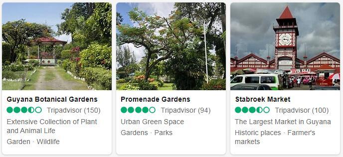 Guyana Georgetown Tourist Attractions 2