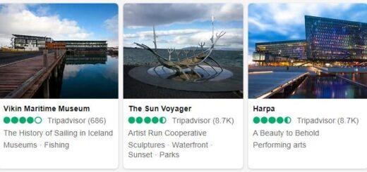 Iceland Reykjavik Tourist Attractions 2