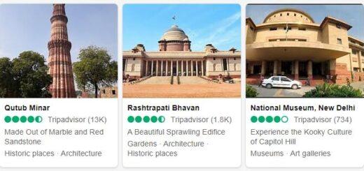 India New Delhi Tourist Attractions 2