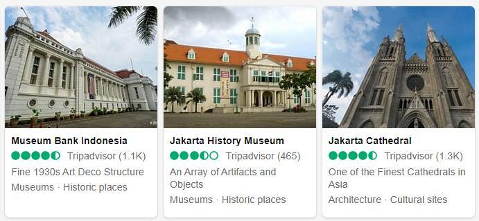 Indonesia Jakarta Tourist Attractions 2