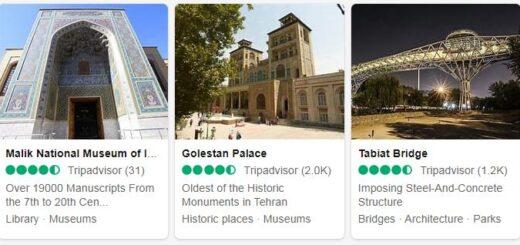 Iran Tehran Tourist Attractions 2