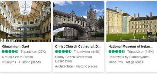 Ireland Dublin Tourist Attractions 2