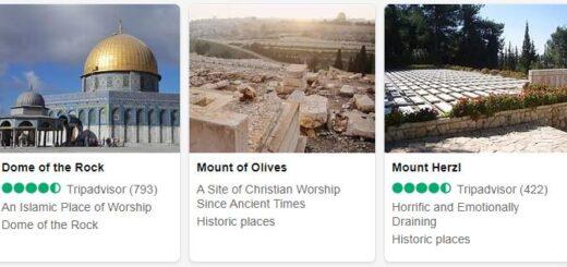 Israel Jerusalem Tourist Attractions 2