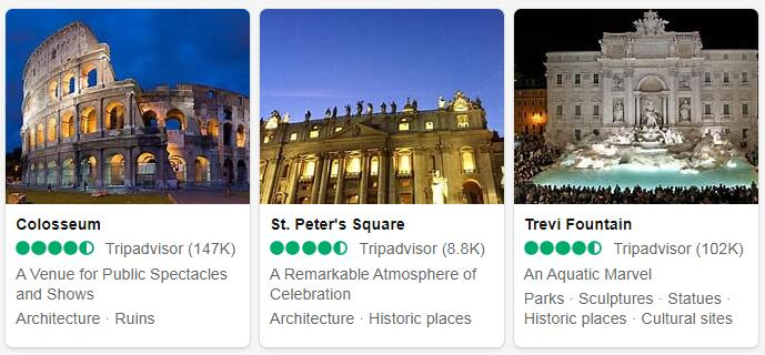 Italy Rome Tourist Attractions 2