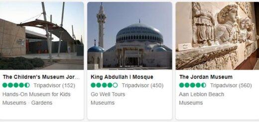 Jordan Amman Tourist Attractions 2