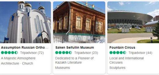Kazakhstan Nur-Sultan Tourist Attractions 2