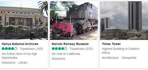 Kenya Nairobi Tourist Attractions 2