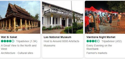 Laos Vientiane Tourist Attractions 2