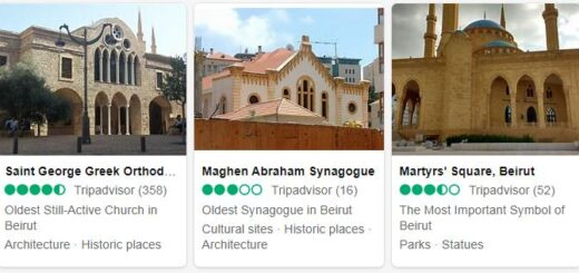 Lebanon Beirut Tourist Attractions 2