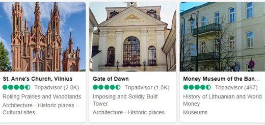 Lithuania Vilnius Tourist Attractions 2