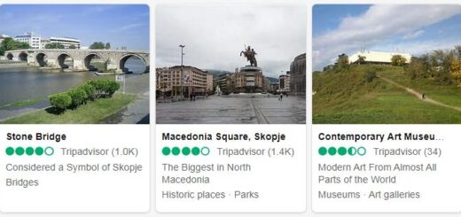 Macedonia Skopje Tourist Attractions 2
