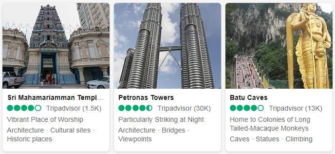 Malaysia Kuala Lumpur Tourist Attractions 2
