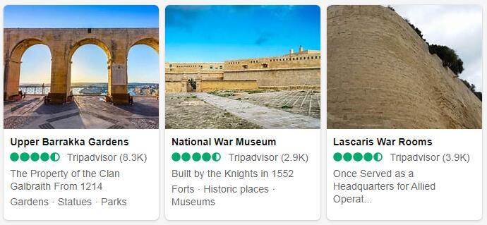 Malta Valletta Tourist Attractions 2