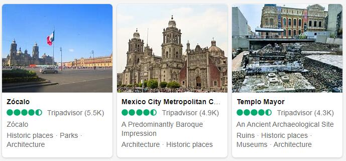 Mexico City Tourist Attractions 2
