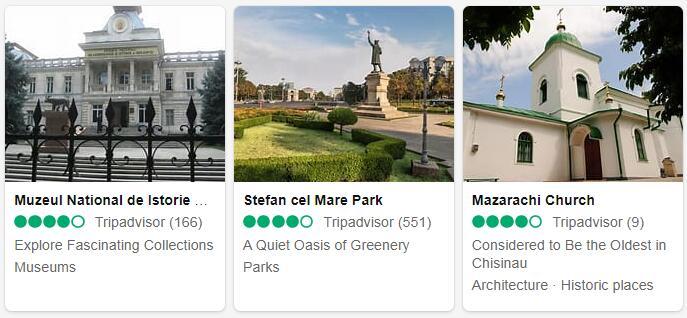 Moldova Chisinau Tourist Attractions 2