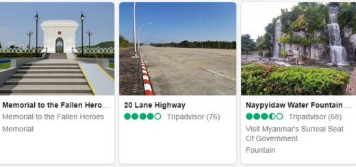 Myanmar Nay Pyi Taw Tourist Attractions 2