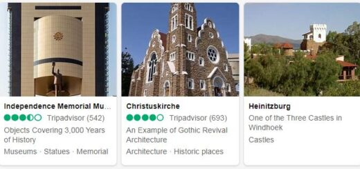 Namibia Windhoek Tourist Attractions 2