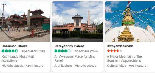 Nepal Kathmandu Tourist Attractions 2