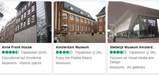 Netherlands Amsterdam Tourist Attractions 2